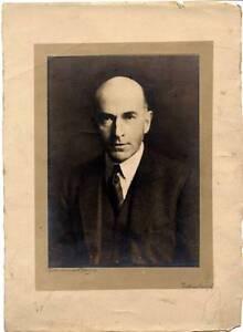 Excellent portrait Arthur Robin Edinburgh Tirage argentique original 1930c