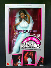 Magic Moves Barbie Doll AA African American Classic 1985 ""