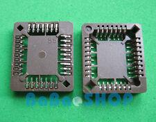 12pcs PLCC32 32 Pin 32Pin SMD IC Socket Adapter PLCC Converter Brand New
