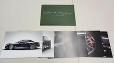 BENTLEY CONTINENTAL GTC & CONTINENTAL GTC SPEED PRODUCT INFORMATION PHOTO CARDS