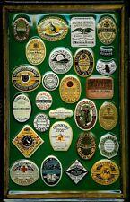 Guinness Labels 1 Blechschild Schild 3D geprägt gewölbt Tin Sign 20 x 30 cm
