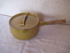 Poêlon Casserole en émail  de 18 cm de diamètre