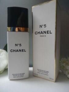 Luxury CHANEL Giftwrap No5 Body Satin Spray 125ml Discontinued New Sealed Box