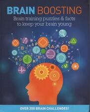 BRAIN BOOSTING - PUZZLES FACTS TO KEEP BRAIN YOUNG - BRAND NEW CONDITION