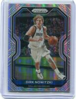 2020-21 Prizm Basketball Dirk Nowitzki Silver Holo MINT RARE HOT