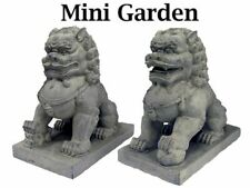 Fairy Garden-Foo Dogs Set of 2