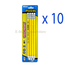 Lot of 10 BAZIC #2 The First Jumbo Premium Yellow Pencil (4 Per Pack) whole sale