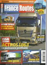 FRANCE ROUTES N°403 ONTARIO EXPRESS / ACTROS 1863 / DAF XF 440 / FRIGO 0 PETROLE