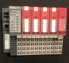 Last One! 1734-AENT,5(five) 1734-0B8S Safety Sink Output Modules
