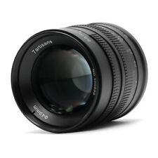 7artisans 55mm f/1.4 Manual Fixed Lens for Fujifilm X Mount Cameras Black