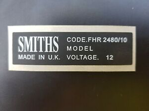 Classic Mini Heater Sticker Smiths
