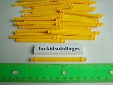 "100 KNEX YELLOW RODS 3 7/16"" Pieces Bulk Standard K'nex Replacement Parts Lot"