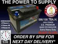 TOYOTA AVENSIS COROLLA 2.0 D 4D DIESEL CAR BATTERY 096 100 12V HEAVY DUTY SEALED