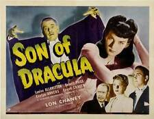 SON OF DRACULA Movie POSTER 22x28 Half Sheet