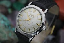 Vintage ZODIAC Autographic Power Reserve Stainless Steel Men's Dress Watch