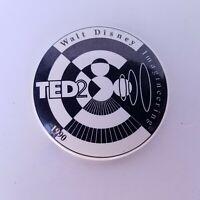 VTG Ted Talk 2 1990 Walt Disney Imagineering Pinback Button