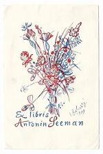 KAREL SVOLINSKY: Exlibris für Antonin Seeman, 1939