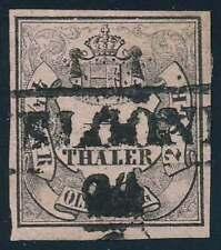 Oldenburg Nr. 3 II gestempelt, geprüft Pfenninger (68267)