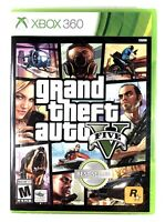 Grand Theft Auto V GTA 5 (Microsoft Xbox 360) New✨ Sealed✨ Mint✨ Free Shipping🔥