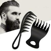 Portable Men Hair Texture Comb Wide Tooth Man Oil Head Hair Styling Comb Kit