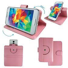 BlackBerry Keyone - Handy Schutz Etui Tasche - 360° L Rosa