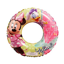 "New listing Disney Minnie Mouse Daisy Kids Girls Swimming 20"" Swim Ring Tube Pool Floats New"