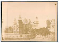 Madagascar, Tananarive, Le Palais d'Andafiavaratra  Vintage citrate print  Tir
