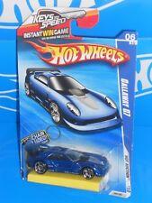 Hot Wheels 2010 Hot Auction #164 Callaway C7 Blue w/ Twin Mill III Key Chain