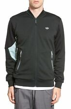 Adidas Originals Winter Tech Superstar Track Jacket Men's Size XL Black Gray