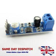 DC 5V-12V LM386 200 Times Gain Arduino Mono Amplifier Board Module Audio #A18