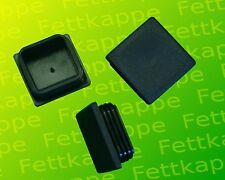 25 x Lamellenstopfen Weiss 60x60 mm Wandstärke 1,5 bis 4 mm Endkappe Abdeckkappe