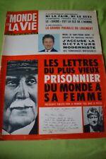 LE MONDE ET LA VIE N°140 JANV 1965 JEAN SERVIER MICHEL DE ST PIERRE PRISONNIER