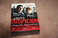 Above Suspicion: Complete Collection (DVD, 2015, 4-Disc Set) *Brand  New Sealed*