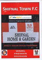 Shifnal Town v Goodrich FC 2010/11 (24 Aug) West Midlands Regional Lge