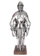 Battle Merchant Miniatur-Ritterrüstung mit Ständer & Schwert 71cm Dekoration