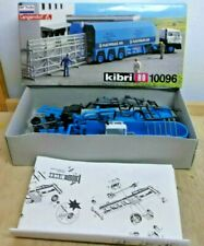 """Kibri 10096 H0 Glastransporter-Sattelzug """" Flat Glass """" 1:87 Kit Neuf Dans Ovp"""