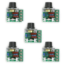 5 x Adjustable Voltage Regulator PWM 2000W 50-220V 25A AC Motor Speed Controller