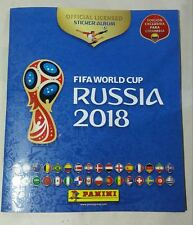 Panini 2018 FIFA World Cup Russia Empty Sticker Album COLOMBIAN Edition Version