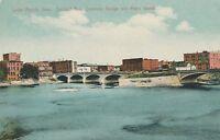CEDAR RAPIDS IA – Second Avenue Concrete Bridge and May's Island