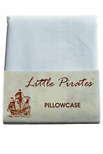 Brand New Baby Cot Bed Pillow Case 60 x 40 - 100% Cotton