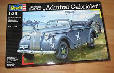 German Staff Car Admiral Cabriolet, Revell 03099 Bausatz Kit in 1:35