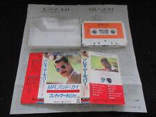 Freddie Mercury Mr. Bad Guy Japan Cassette Tape in 1985 Queen Mister