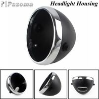 7 Inch Motorcycle Front Headlight Housing Headlamp Light Bucket For Harley Dyna