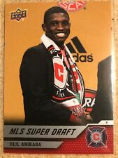 Jilil Anibaba 2011 Upper Deck Soccer MLS Super Draft New England Revolution