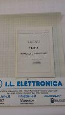MANUALE IN ITALIANO ORIGINALE  istruzioni d'uso per YAESU FT-811