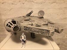 Millennium Falcon (rasender Falke, Hasbro, Star Wars) !!! MIT GESCHÜTZ !!!