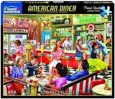 American Diner 1000 piece jigsaw puzzle  760mm x 610mm  (wmp)