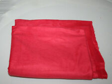 MICRO FIBER SYNTHETIC SUEDE FABRIC 1.40 CM X 90 CM RED