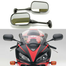 Pairs Black Racing Mirrors For Suzuki GSXR 600 750 1000 2004 2005 2006 2007 2008