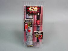 Vintage Star Wars LIGHT SABER COLLECTOR WATCH Darth Maul Episode 1  #Z3